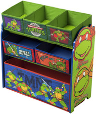 Ninja Turtles Multi-Bin Toy Organizer