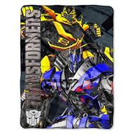 """Hasbro's Transformers """"Age of Extinction"""" Micro Raschel Throw, 46 by 60-Inch"""