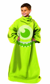 """Disney Monsters University """"Big Face Mike"""" Juvenile Comfy Throw, 48 by 48-Inch"""