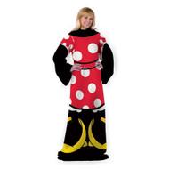 Disney Classic Mickey Minnie Wear Adult Comfy Throw