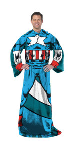 "Marvel Avengers Captain America ""Being Captain"" Adult Comfy Throw"