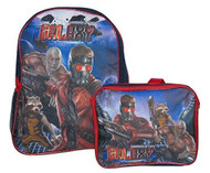 Guardians Of The Galaxy Large Full Size Backpack with Lunch Bag