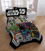 Star Wars Classic Twin Sheets Set - Yoda and Darth Vader