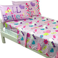 Doc McStuffins 4 Piece Full Sheet Set