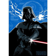 "Star Wars Darth Vader Twin/Full Plush Blanket - 62"" by 90"""