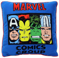 Marvel Heroes Cut Up Decorative Pillow