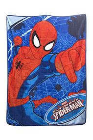 "Spider-Man Plush Microfiber Throw 46"" x 60"""