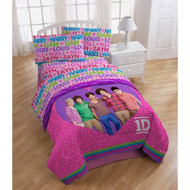 One Direction Full Size Sheets Set