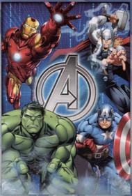 "Marvel Avengers Micro Raschel Plush Throw - 50"" by 60"""