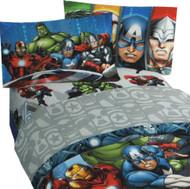 Marvel Avengers Assemble Twin Sheet Set