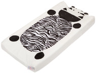 Cocalo Plushy Changing Pad Cover, Zebra