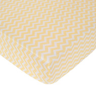 Carter's Zig Zag Crib Fitted Sheet, Yellow