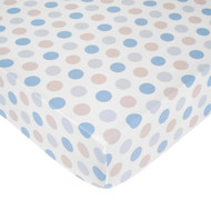 Carter's Crib Fitted Sheet, Boy Dots