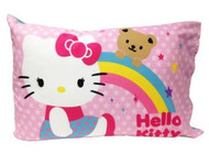 Hello Kitty Stars and Rainbows Toddler Bedding Set
