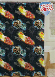 Disney Cars Peva Shower Curtain