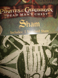 Standard Pillow Sham - Disney Pirates of the Caribbean, Dead Man's Chest