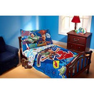 Disney Toy Story Fly to Infinity 4-piece Toddler Bedding Set