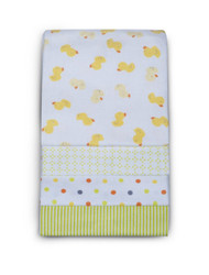 Carter's 4 Pack Wrap Me Up Receiving Blanket, Mod Duck