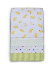 Carter's 4 Pack Wrap Me Up Receiving Blanket, Mod Duck