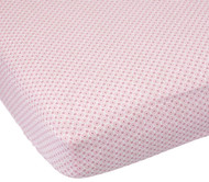 Carter's Easy Fit Printed Crib Fitted Sheet, Mod Flowers