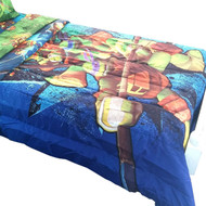 Teenage Mutant Ninja Turtles Twin-Full Bed Comforter Time to Shell Up Bedding