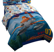 Disney/Pixar Planes Fire and Rescue Sheet Set, Twin, Piston Peak