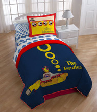 Bravado Beatles Yellow Submarine Comforter, Twin/Full