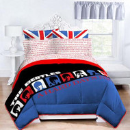 The Beatles Hard Day's Night Twin/Full Comforter and Sham Set