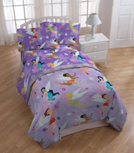 Disney Fairies Rotary Flying High Twin Comforter