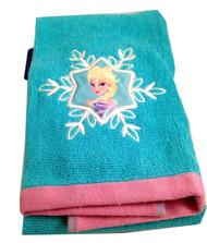Frozen Elsa Hand Towel