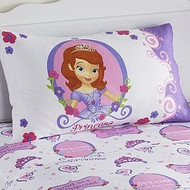 Sofia the First Pillow Case - Standard Size