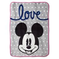 Disney Mickey Chevron Throw Blanket