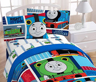 "Hit Entertainment Thomas The Tank Engine ""Fun"" Full Sheet Set"