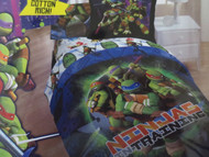 TMNT Full Size Comforter and Sham Set