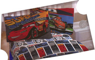 "Disney PIXAR Cars Full Size Sheet Set ""Super Speedway"""