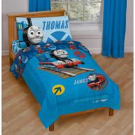 Thomas the Tank Engine & Friends 4 Pc Toddler Bedding Set