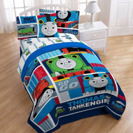 """Thomas the Tank """"Fun"""" Twin/Full Comforter"""