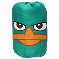 "Disney Phineas and Ferb ""Never Flinch"" Slumberbag in Backpack"