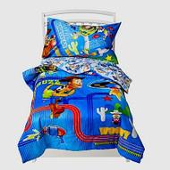 Disney TOY STORY LAZER BLAST 4 Piece Toddler Bed Set