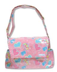 Trend Lab Messenger Bag Style Diaper Bag, Groovy Love