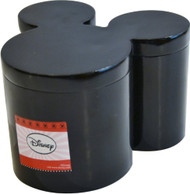 DISNEY Mickey Mouse Icon Head Cotton Jar – Black
