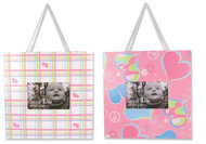 Trend Lab Set of 2 Frame Set , Groovy Love Print