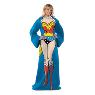 DC Comic Wonder Woman, Being Wonder Woman 48-Inch-by-71-Inch Adult Comfy Throw with Sleeves