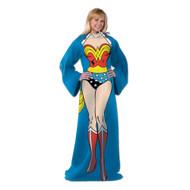 "Wonder Woman ""Being Wonder Woman"" Adult Comfy Throw"