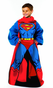 "Warner Brothers ""Superman, Being Superman"" Youth Comfy Throw"