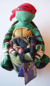 Teenage Mutant Ninja Turtle Raphael Plush and Fleece Throw Set