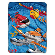 "Disney's Planes ""Rescue Crew"" Micro Raschel Throw"