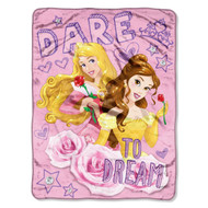 Disney Princess: Dare to Dream Micro Raschel Super Plush Throw
