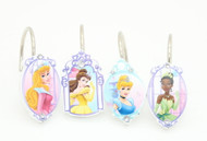 Kids Girls Disney Princess Shower Curtain Hooks