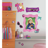 RoomMates RMK2271GM Barbie-Feet S Fabulous Frames Peel and Stick Giant Wall Decals